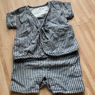 ムジルシリョウヒン(MUJI (無印良品))のMUJI baby 甚平 90cm(甚平/浴衣)