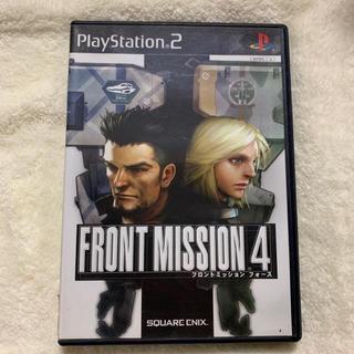 プレイステーション2(PlayStation2)のPS2専用 FRONT MISSION 4(家庭用ゲームソフト)