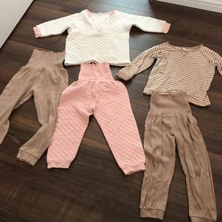 ムジルシリョウヒン(MUJI (無印良品))の無印良品 腹巻き付きパジャマ 2点セット(パジャマ)