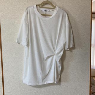 Tシャツ ひねり 白(Tシャツ(半袖/袖なし))