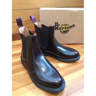 Dr.Martens - Dr.Martens FLORA UK5 Cherry Red フローラ