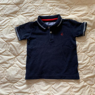プチバトー(PETIT BATEAU)のプチバトー ポロシャツ(シャツ/カットソー)