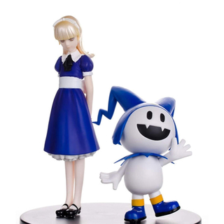 プレイステーション2(PlayStation2)の新品 真・女神転生 ペルソナ リアルフィギュア4 アリス&ジャックフロスト(ゲームキャラクター)