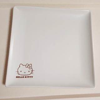 ハローキティ(ハローキティ)のHELLO KITTYスクエア型プレート(食器)