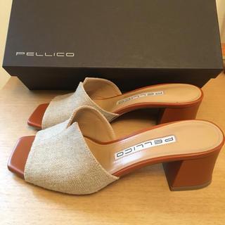 PELLICO - PELLICO CANVAS SANDAL 35.5