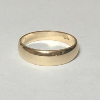 K18 シンプルリング(リング(指輪))