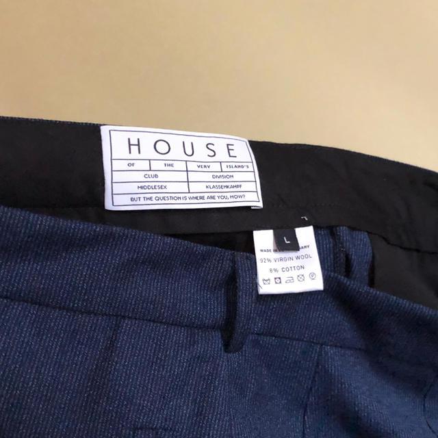 Yohji Yamamoto(ヨウジヤマモト)の【新品】house of the very ワイド パンツ ウール L 定価4万 メンズのパンツ(サルエルパンツ)の商品写真