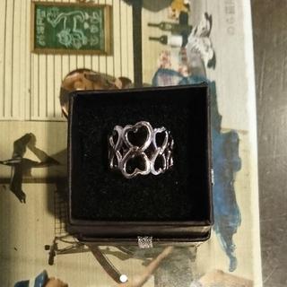 ティアラ(tiara)のK18ホワイトゴールドリング(リング(指輪))