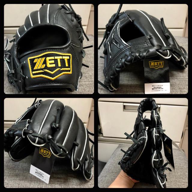 ZETT(ゼット)の★人気 格安 ◆未使用品 迅速発送◆ ZETT 一般 軟式 グローブ 天然皮革★ スポーツ/アウトドアの野球(グローブ)の商品写真