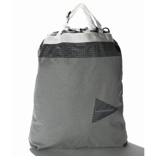 パタゴニア(patagonia)の値下げ【未使用】and wander grid cloth stuffsack(ショルダーバッグ)