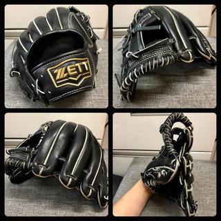 ゼット(ZETT)の◆美品 良型 即戦力◆ ZETT 一般 軟式 内野 野球 グローブ ◆迅速発送◆(グローブ)