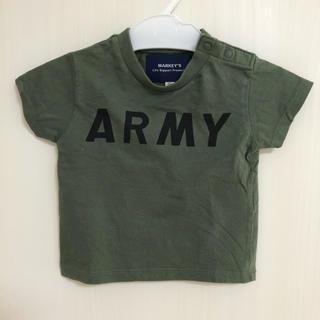 マーキーズ(MARKEY'S)のMARKEY'S/ARMY Tシャツ80(Tシャツ/カットソー)