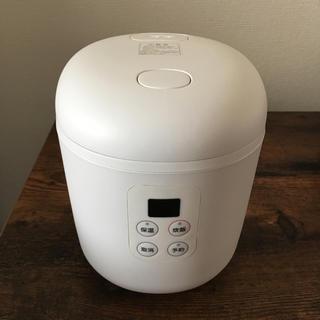 ムジルシリョウヒン(MUJI (無印良品))の無印 1.5合 炊飯器 美品 (炊飯器)