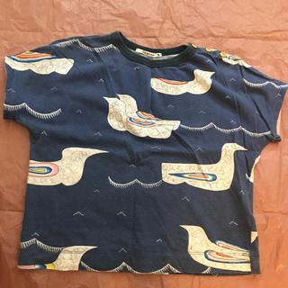 ミナペルホネン(mina perhonen)のミナペルホネン morningport キッズカットソー 110(Tシャツ/カットソー)