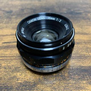 ライカ(LEICA)の【極美品】Lマウント Canon 35/2 ライカ Leica(フィルムカメラ)