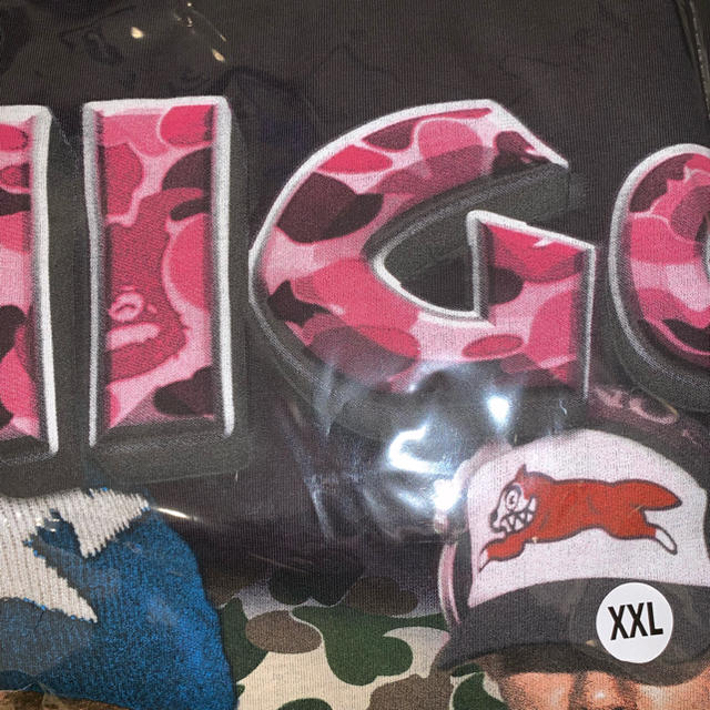 A BATHING APE(アベイシングエイプ)のMarino morwood Nigo t-shirt 2XL size メンズのトップス(Tシャツ/カットソー(半袖/袖なし))の商品写真