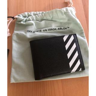 オフホワイト(OFF-WHITE)のOff-white バイフォールド ウォレット オフホワイト 財布(折り財布)