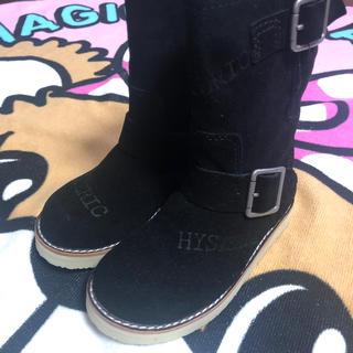 ヒステリックミニ(HYSTERIC MINI)のヒス ブーツ Sサイズ(ブーツ)