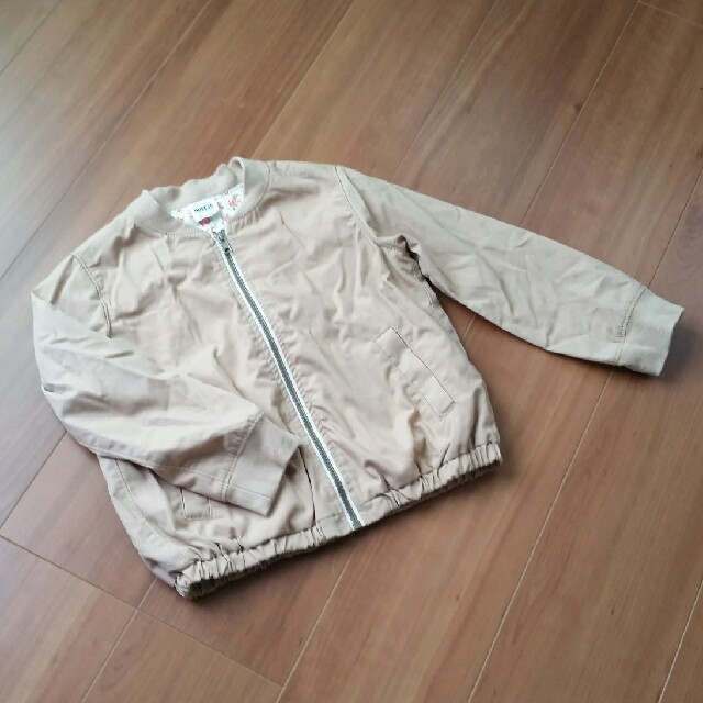 BREEZE(ブリーズ)のブリーズ120ブルゾン キッズ/ベビー/マタニティのキッズ服 男の子用(90cm~)(ジャケット/上着)の商品写真