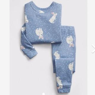 ベビーギャップ(babyGAP)の今季新品 ベビーギャップ うさぎ柄 パジャマ 100(パジャマ)