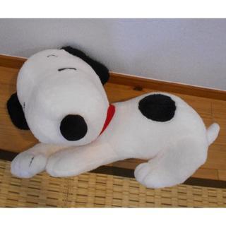 スヌーピー(SNOOPY)のスヌーピー ギガジャンボ 寝そべりポーズ ぬいぐるみ(ぬいぐるみ)