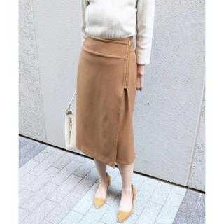 美品★ Spick and Span Noble ラップスカート