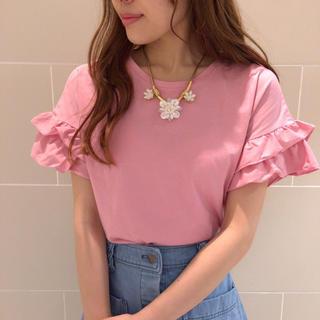 デイシー(deicy)のdeicy フリルTシャツ(Tシャツ(半袖/袖なし))