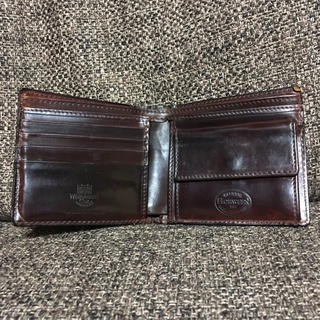 ホワイトハウスコックス(WHITEHOUSE COX)の【べこたん様専用】ホワイトハウスコックス シェルコードバン 二つ折り財布(折り財布)