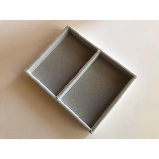 ムジルシリョウヒン(MUJI (無印良品))のMUJI(無印良品)アクリルケース用ベロア内箱仕切(縦)定価590円(ネックレス)