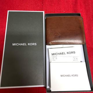 マイケルコース(Michael Kors)のマイケルコース メンズ 二つ折り財布(折り財布)