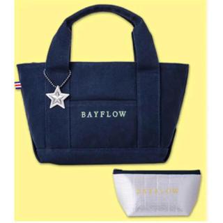 ベイフロー(BAYFLOW)のBAYFLOW ローソン限定トートバッグ イエロー(トートバッグ)