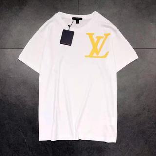 ルイヴィトン(LOUIS VUITTON)の19SS 新作 ルイヴィトン LV ブリックプリント Tシャツ ホワイト  (Tシャツ/カットソー(半袖/袖なし))