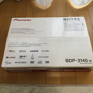 パイオニア(Pioneer)のPioneer BDP-3140-k ブルーレィディスクプレイヤー(ブルーレイプレイヤー)