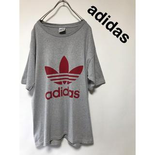 アディダス(adidas)の80's 90's ヴィンテージ アディダス Tシャツ トレフォイル(Tシャツ/カットソー(半袖/袖なし))
