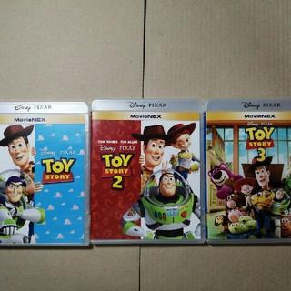 トイストーリー(トイ・ストーリー)のディズニー トイストーリー 1.2.3  国内正規品 Blu-ray 3点セット(キッズ/ファミリー)