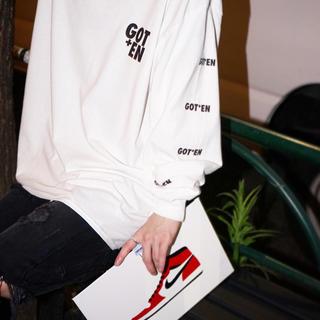 フィアオブゴッド(FEAR OF GOD)のENER新作ロングスリーブTシャツ ロンT GOTEN ホワイトXL(Tシャツ/カットソー(七分/長袖))