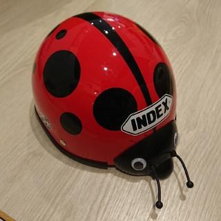 INDEX - index インデックス テントウムシ キッズ ヘルメット