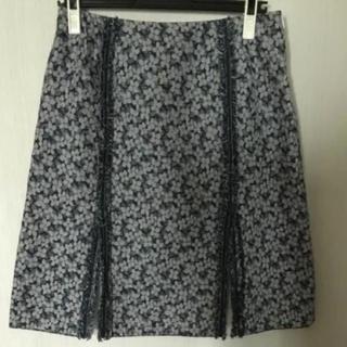 ルネ(René)のルネ 小花柄 スカート(ひざ丈スカート)