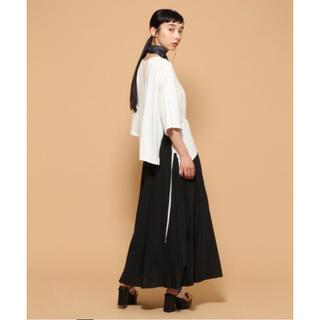 ハレ(HARE)のオリガミケシプリーツスカート ブラック(ロングスカート)