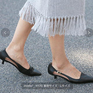 Ameri VINTAGE - Ameri☆【新品】SIDE CUT SQUARE TOE PUMPS