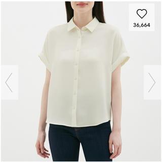 ジーユー(GU)のGU エアリーシャツ(シャツ/ブラウス(半袖/袖なし))