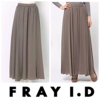 フレイアイディー(FRAY I.D)のFRAY I.D(フレイ アイディー)シフォンマキシスカート0 ウエストゴム(ロングスカート)