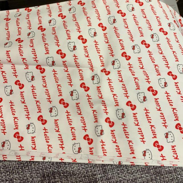 ハローキティ(ハローキティ)のHELLO KITTY ハローキティ 布地 ハンドメイドの素材/材料(生地/糸)の商品写真
