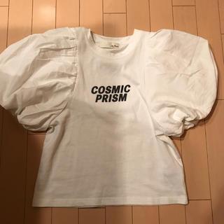 リリーブラウン(Lily Brown)のリリーブラウン 袖ボリュームTシャツ アーバン kbf スナイデル好きに(Tシャツ(半袖/袖なし))