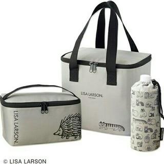 リサラーソン(Lisa Larson)のリサラーソン 付b LISA LARSON 保冷バッグ 3点セット(キャラクターグッズ)