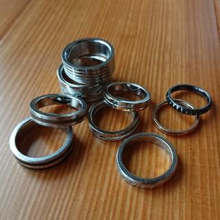 中古 ステンレスリング 指輪 ステンレス アクセサリー メンズリング(リング(指輪))