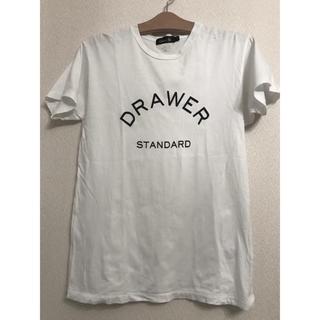 ドゥロワー(Drawer)のDrawer ドゥロワー Tシャツ 01(Tシャツ(半袖/袖なし))