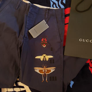 グッチ(Gucci)の新品 Gucci グッチ パンツ ジーンズ 刺繍 ズボン メンズ(チノパン)