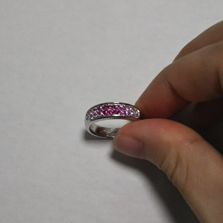 K14色石ホワイトゴールドリング(リング(指輪))