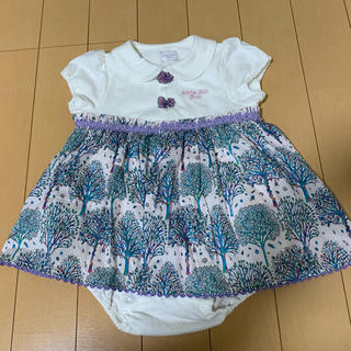 アナスイミニ(ANNA SUI mini)の半額SALE♡6500円☞3250円!新品・タグ付き!!ANNA SUImini(ロンパース)